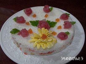 おすしのケーキ