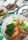 鰯のつみれDeサッパリ素麺~っ☺❤