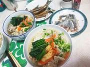 鰯のつみれDeサッパリ素麺~っ☺❤の写真