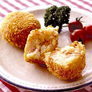 鮭のチーズコロッケ