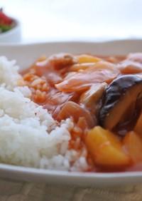 野菜ジュースで栄養たっぷりチキン煮込み