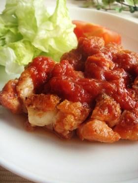 鶏肉のバーベキュー煮♪