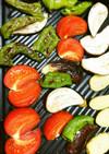 簡単グリルで焼き野菜
