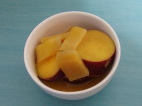 ドライマンゴーとさつまいものオレンジ煮