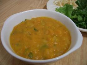 かぼちゃスープ@かぼちゃごろごろ
