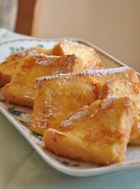 しっとり美味しい♪フレンチトースト