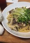 ♡牛肉とエリンギの和風スパゲッティ♡