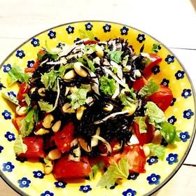 作り置き★ひじきのマリネの★トマトサラダ
