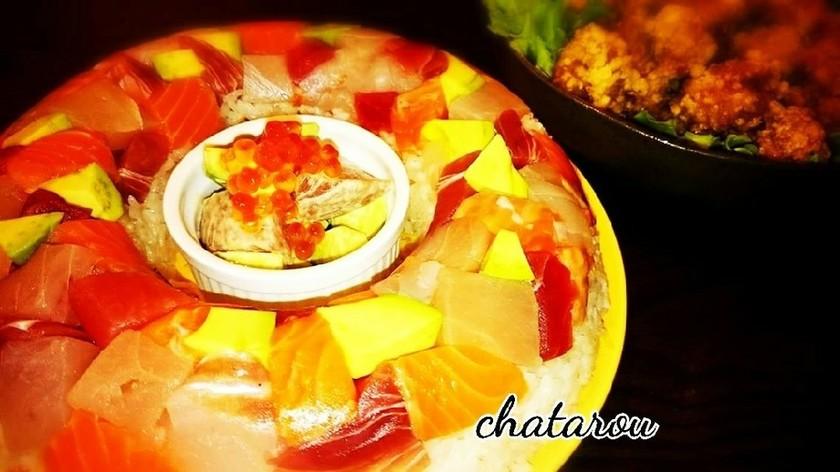 かわいい☆ちらし寿司