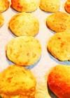 *タピオカ粉で簡単ゴマチーズパン*