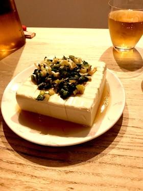 簡単万能香味ダレ!鶏ハムやお豆腐に♪