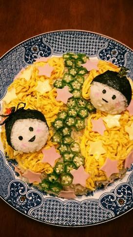 七夕☆ちらし寿司