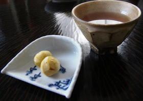 簡単お茶請け・甘露煮で焼き栗