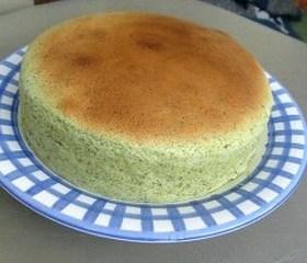 ほうれん草のスフレチーズケーキ