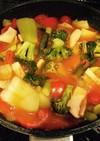 好きな野菜入れてしまえトマトスープ