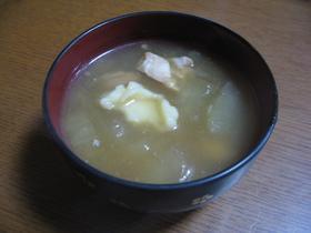 ぽかぽか☆冬瓜スープ
