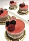 フランボワーズ&ショコラムースケーキ