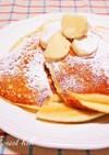 クリチとメレンゲの米粉パンケーキ