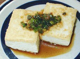 爽やかぴりり*豆腐ステーキ