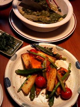 イロドリ★濃い色焼き野菜
