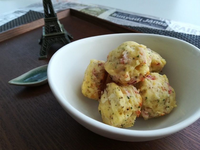 ベーコンとチーズのお食事スコーン☆ミ