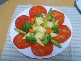 クレイジー温野菜サラダ