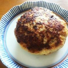 糖質制限中の豆腐ハンバーグ