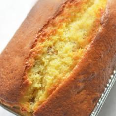 HMで簡単♪基本のパウンドケーキ