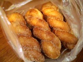 さくさく☆ツイストドーナツ