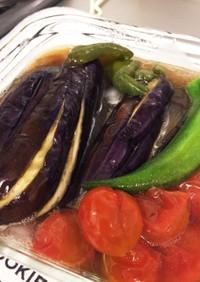 味付け簡単!野菜の焼きびたし★★★