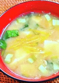 江戸料理✿納豆汁