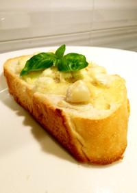 ホワイトコーン トースト