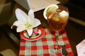 紅茶の炭酸割