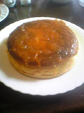 素朴なスフレチーズケーキ