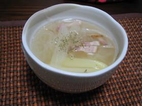 やさしいお味 鶏ガラ春雨スープ♪