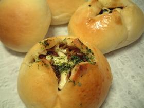 焼きそばパン&コロッケパン