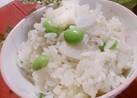 蓮根と枝豆の炊き込みご飯~✴