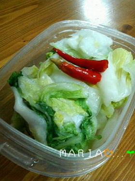 簡単!白菜消費✿白菜の漬物