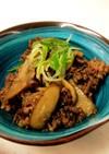 牛肉とごぼうのココナッツオイル炒め