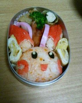 プラスル弁当 (ポケモンキャラ弁)