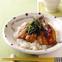 いわしの韓国風かば焼き丼