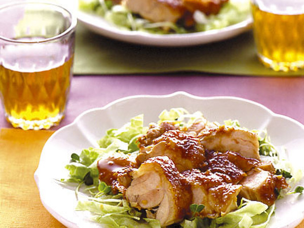 鶏肉の中華風照り焼き