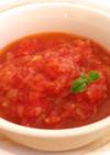 飴色玉ねぎでコクと旨味のトマトソース