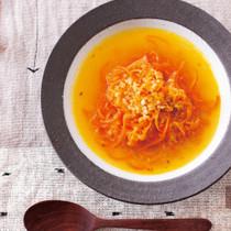 にんじん麺キヌアスープ