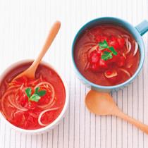 じゃが麺トマトスープ