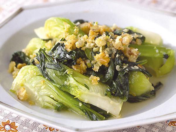 青梗菜の香り炒め