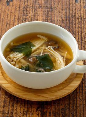 きのこの和風スープ