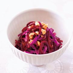 ビーツと紫キャベツのサラダ
