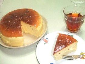 ふんわりスフレチーズケーキ