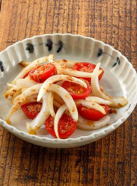 ミニトマトおかかポン酢